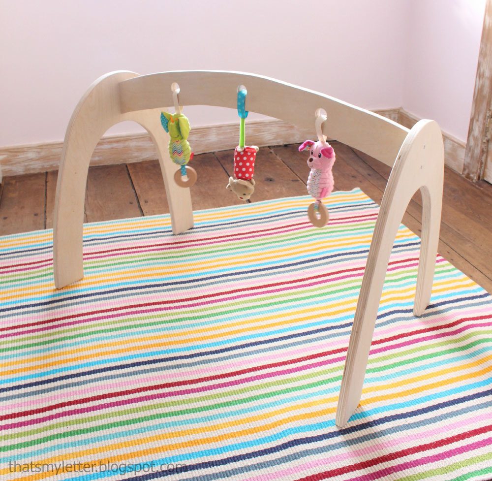 Ana White | Wood Baby Gym - DIY Projects