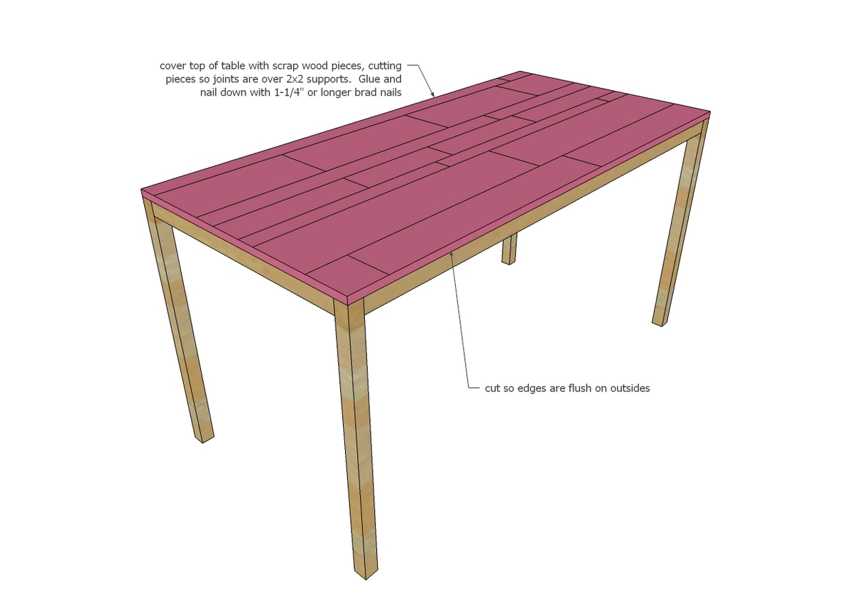 Modern Dining Table Plans: Modern Reclaimed Wood Dining