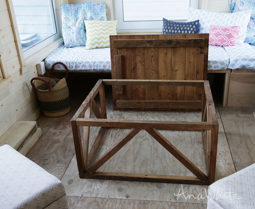 Coffee Table Converts To Dining From Wild Rose Tiny House Ana White