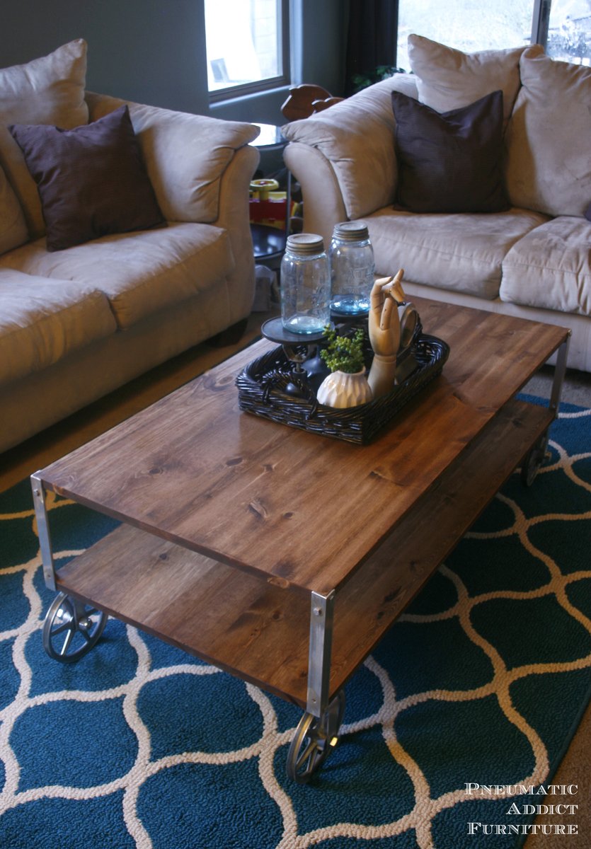 Ana White Easy Industrial Coffee Table Diy Projects