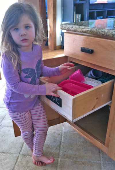 Ana White Wood Pullout Cabinet Drawer Organizer Diy