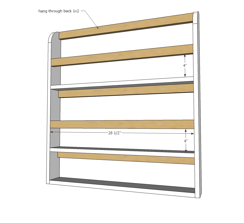 You can use nails as the completed plate rack is attached to the wall creating additional structure just use glue whenver nailing.  sc 1 st  Ana White & Ana White | Wooden Plate Rack Plans - DIY Projects