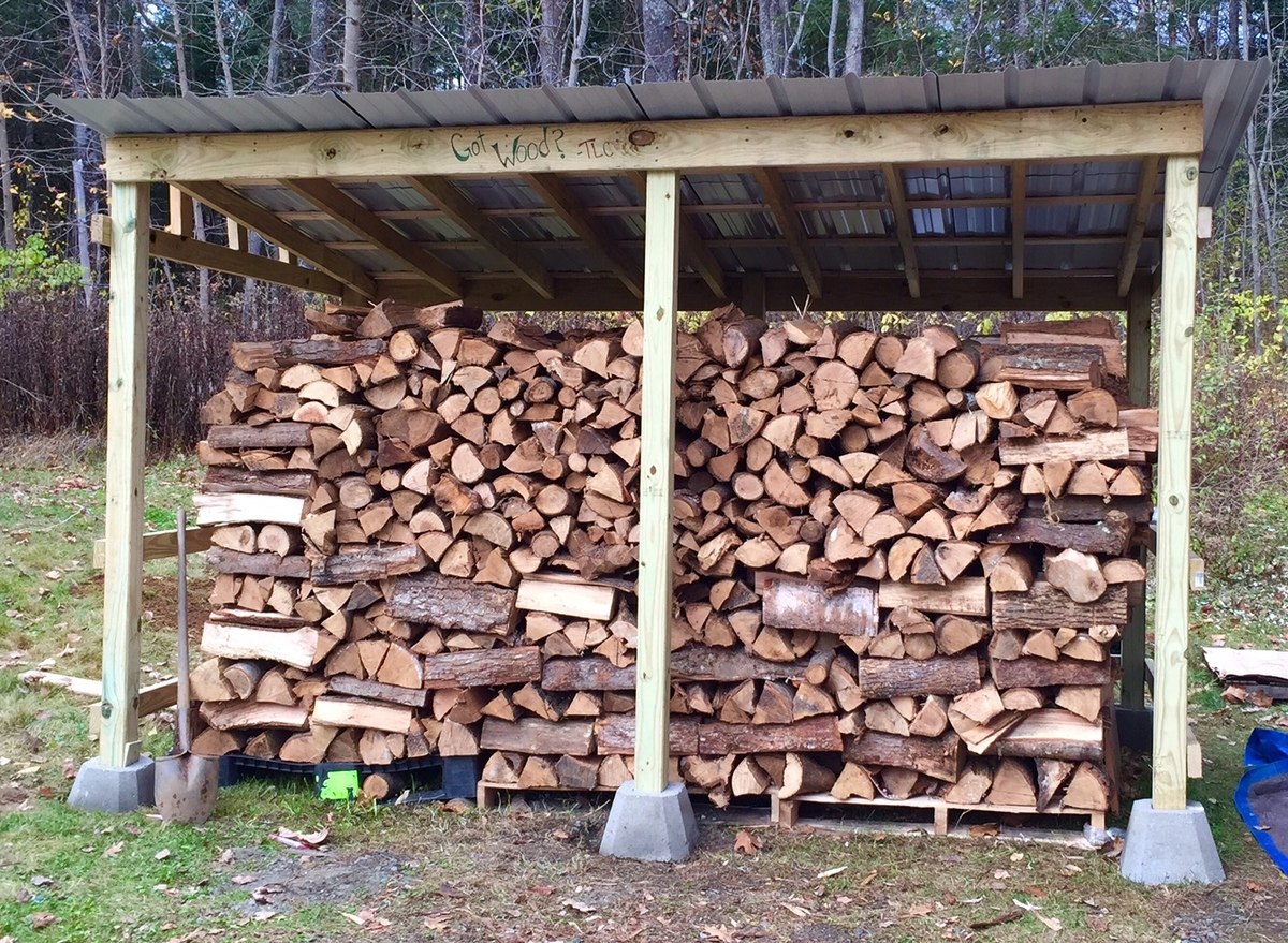 Ana White | Firewood Shed - DIY Projects